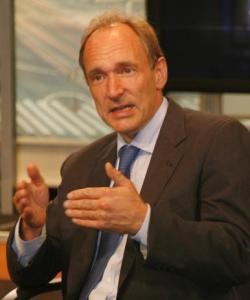 Tim Berners-Lee talking at the World Wide Web Foundation press conference at the Newseum in 2008.John S. and James L. Knight Foundation, Tim Berners-Lee-Knight-crop, CC BY-SA 2.0 Tim Berners-Lee talking at the World Wide Web Foundation press conference at the Newseum in 2008.John S. and James L. Knight Foundation, Tim Berners-Lee-Knight-crop, CC BY-SA 2.0 - TRUE or FALSE: I have a web site now let the sales roll in! - What to expect from a business web site.